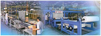 Tuber machine production line for multiwall paper bag